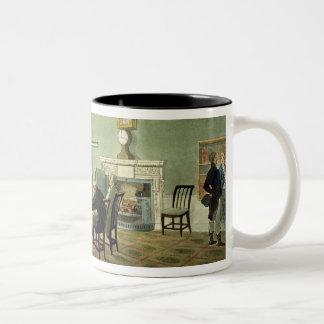Board of Trade, from 'Ackermann's Microcosm of Lon Two-Tone Coffee Mug
