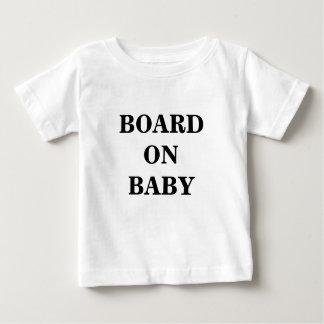 BOARD ON BABY SHIRT