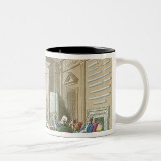 Board Room of The Admiralty, 1808 Two-Tone Coffee Mug