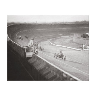Board Track Speedway, 1925 Canvas Print