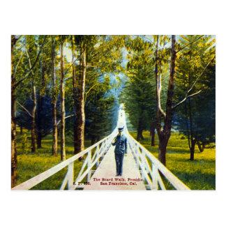 board walk postcard