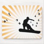 board with birds. mousepad