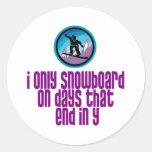 BoardChick Days Sticker