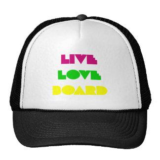 BoardChick Live Love Board Trucker Hat