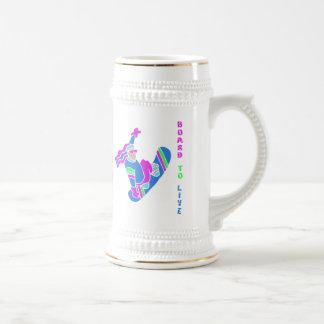 BoardChick Live To Board Mug
