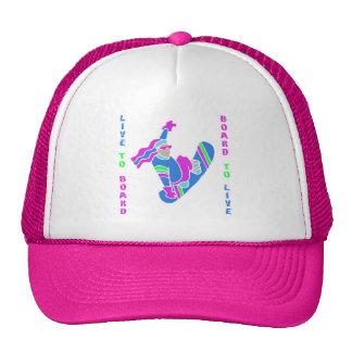 BoardChick Live To Board Trucker Hat