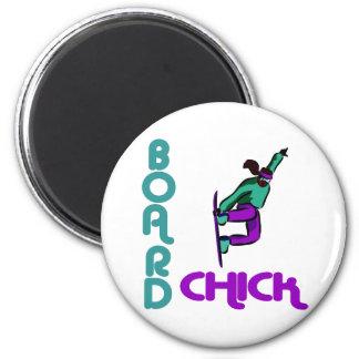 BoardChick Logo Magnet