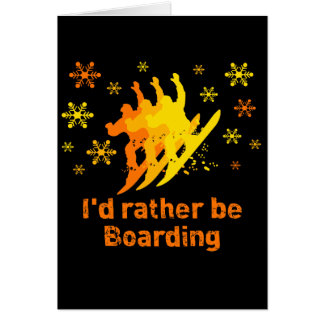 BoardChick Rather Card