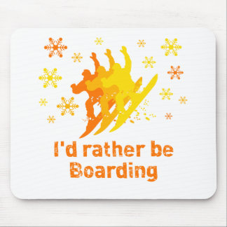 BoardChick Rather Mouse Pad