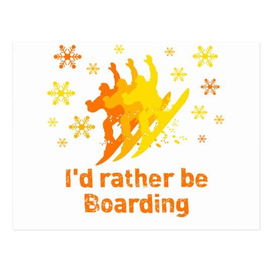 BoardChick Rather Postcard