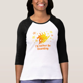 BoardChick Rather T-Shirt