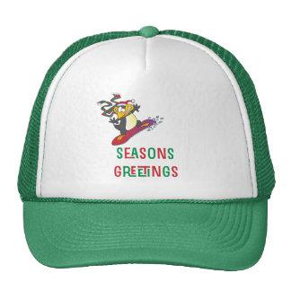 BoardChick Seasons Greetings Trucker Hat