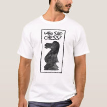 Boardgame chess player - checkmate gift ideas T-Shirt