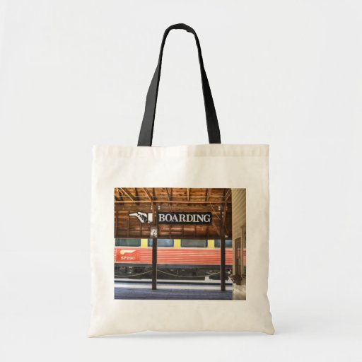 Boarding Budget Tote Bag