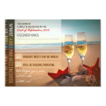 boarding confirmation wedding RSVP cards - tickets