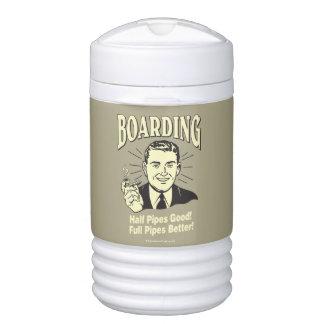 Boarding:Half Pipe's Good Full Better Cooler