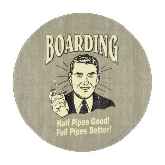 Boarding:Half Pipe's Good Full Better Cutting Board
