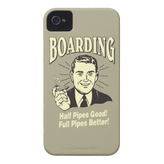 Boarding:Half Pipe's Good Full Better iPhone 4 Cover