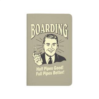 Boarding:Half Pipe's Good Full Better Journal