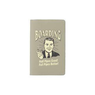 Boarding:Half Pipe's Good Full Better Pocket Moleskine Notebook
