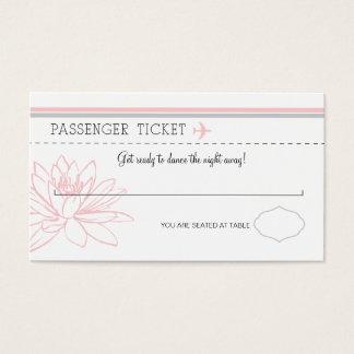 Boarding Pass Escort/Seating Card