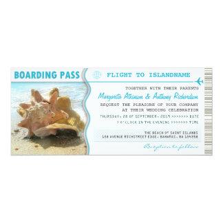 boarding pass flight tickets wedding invitations