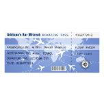 Boarding Pass Placecard Invitation