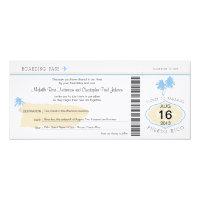 Boarding Pass to Puerto Rico Wedding Card (<em>$3.25</em>)