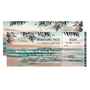 Boarding Pass Invitations Announcements Zazzle