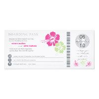 Boarding Pass Wedding Invitation (<em>$3.25</em>)