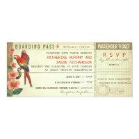 boarding pass wedding tickets with rsvp card (<em>$2.52</em>)
