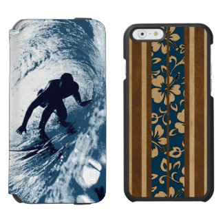 Boarding Trybe Surfer & Pupukea Hawaiian Surfboard Incipio Watson™ iPhone 6 Wallet Case