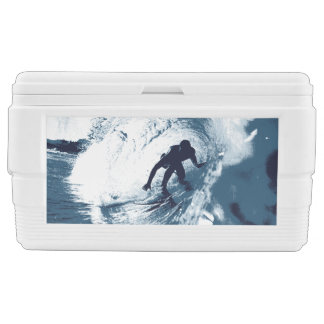 Boarding Trybe Tube, Hawaiian Club Surfing Graphic Ice Chest