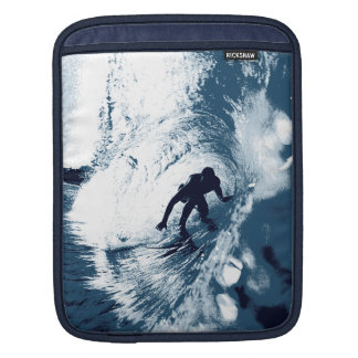 Boarding Trybe Tube, Hawaiian Surf Graphic iPad Sleeve
