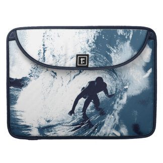 Boarding Trybe Tube, Hawaiian Surf Graphic Sleeves For MacBook Pro