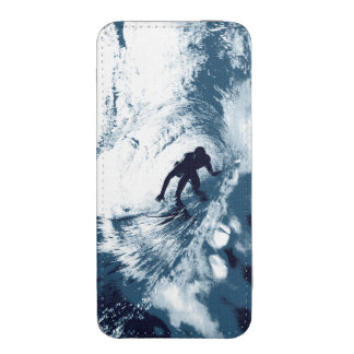 Boarding Trybe Tube, Hawaiian Surf Graphic Pouch iPhone 5 Pouch