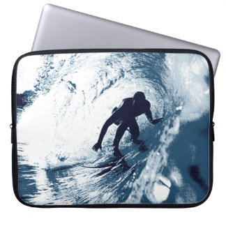 Boarding Trybe Tube, Hawaiian Surf Graphic Wetsuit Laptop Sleeve