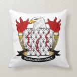Boardman Family Crest Pillows