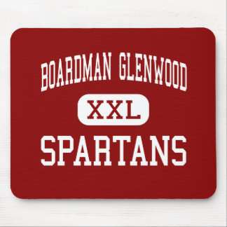 Boardman Glenwood - Spartans - Middle - Youngstown Mouse Pad