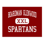 Boardman Glenwood - Spartans - Middle - Youngstown Post Cards