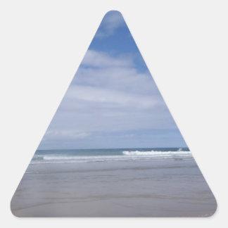 Boardmasters 2013, playa de Fistral Calcomanías Trianguladas Personalizadas