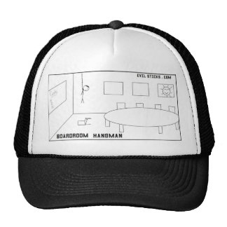 BoardroomHangman Trucker Hat