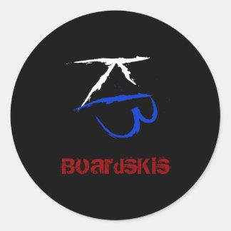BoardsKis - Emblem Sticker (Black)