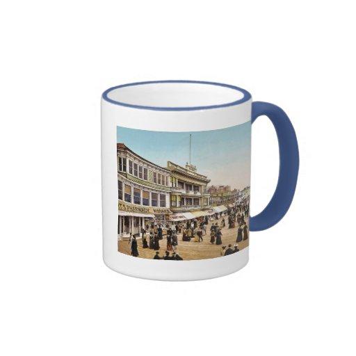 Boardwalk at Atlantic City 1900 Coffee Mug