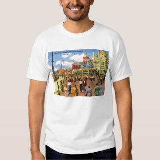 Boardwalk, Atlantic City Vintage T-shirt