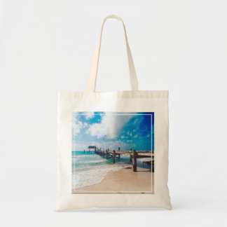 Boardwalk By The Sea Tote Bag
