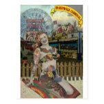 Boardwalk Carnival Postcard