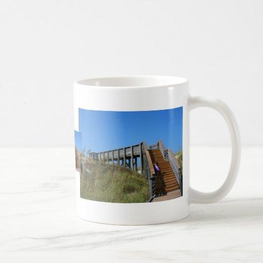 Boardwalk, Florida, Cape San Bur beach picture Mug