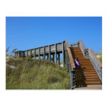 Boardwalk, Florida, Cape San Bur beach picture Post Card