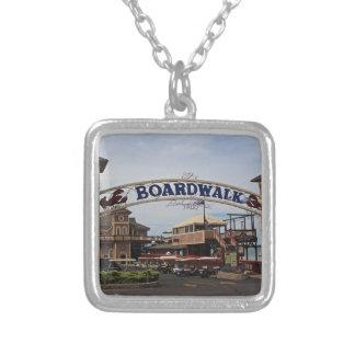 Boardwalk II Silver Plated Necklace